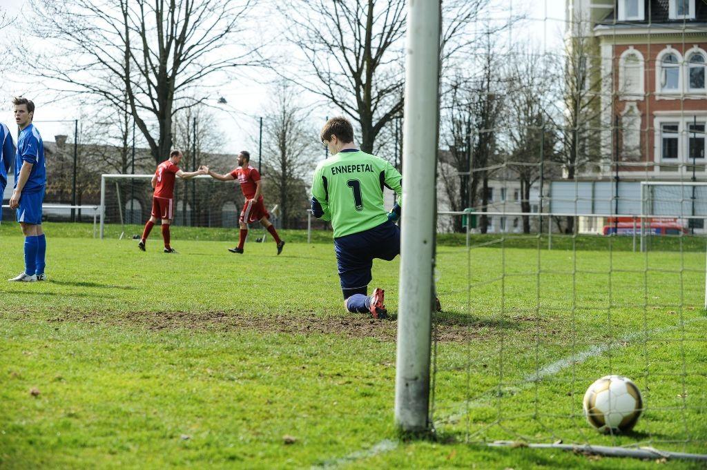 Fußball-Kreisliga A: VfB Schwelm - TuS Ennepetal II