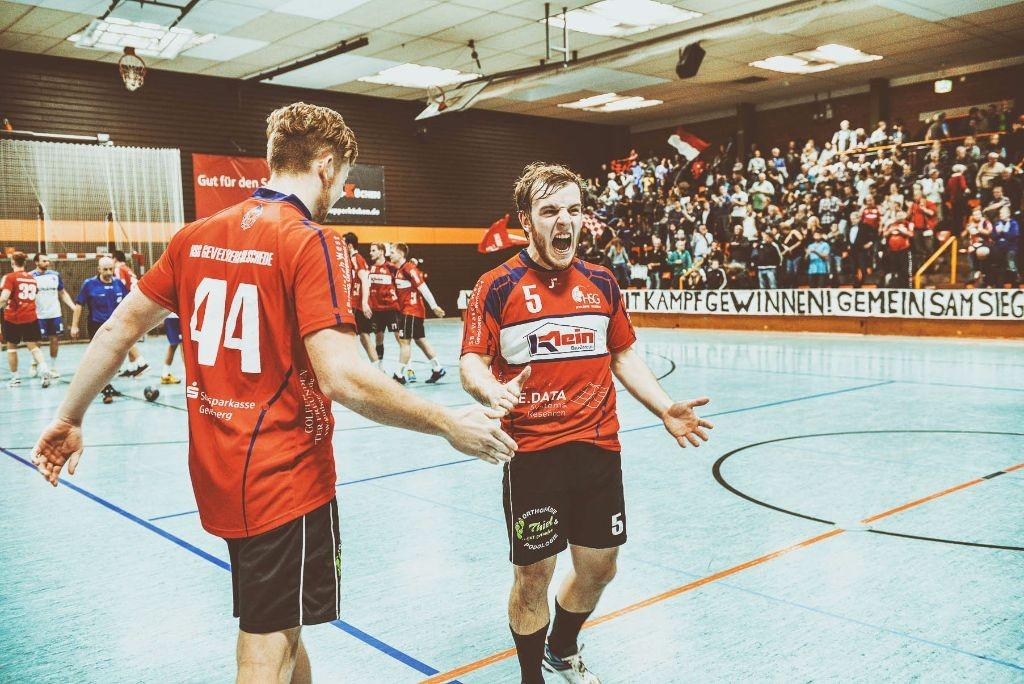 SPORT: HB Oberliga: HSG Gevelsberg-Silschede gegen TuS Bielefeld-Jöllenbeck, Gevelsberger Halle West